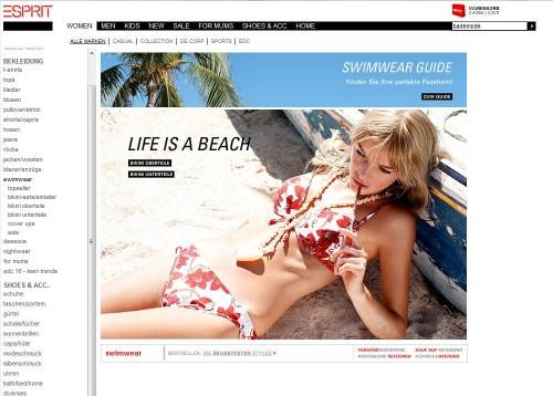 Esprit Online-Shop