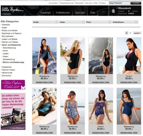 Ulla Popken Online-Shop