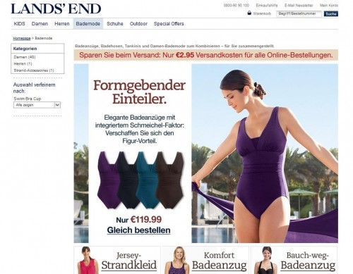 Land's End Online-Shop