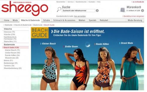 Sheego.de Online-Shop