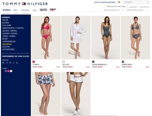 Tommy Hilfiger Online-Shop