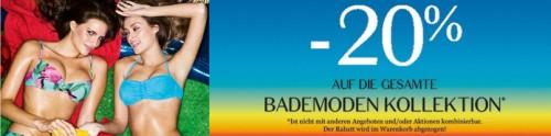 Hunkemoeller Bademode Rabattaktion