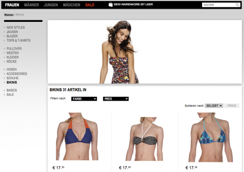We Fashion Bikinis | Online-Shop