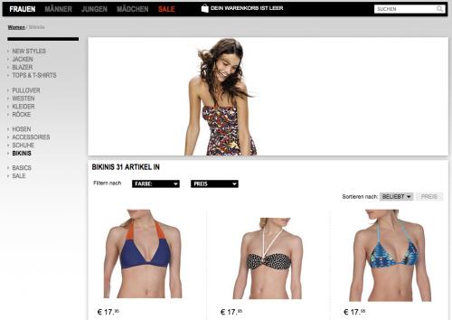 We Fashion Bikinis | Online-Shop