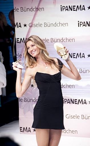 Gisele Bündchen Sandalenkollektion 2011