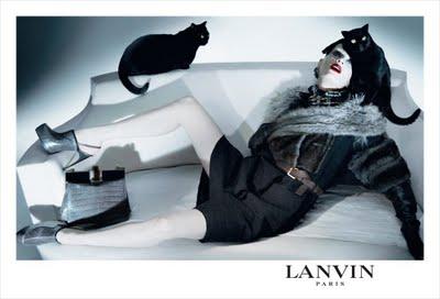Kristen McMenamy für Lanvin